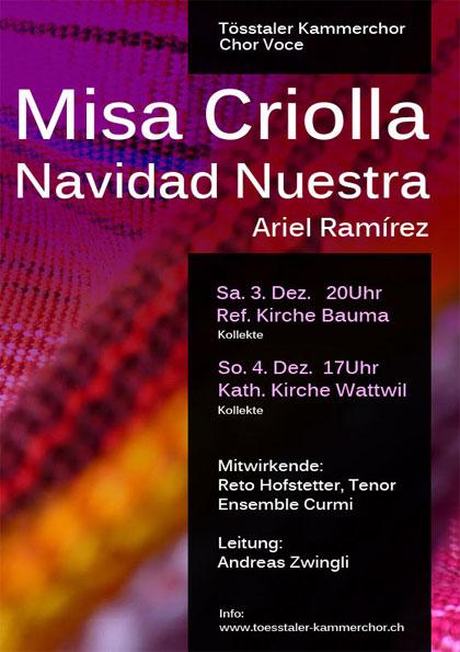 2011 Misa Criolla