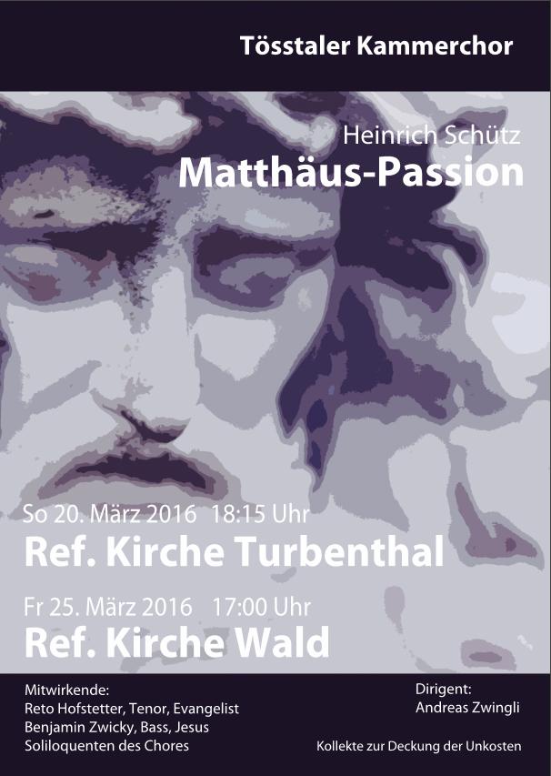 2016 Passion von Schütz