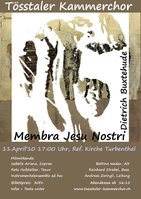 2010 Buxtehude, _Membra Jesu nostri