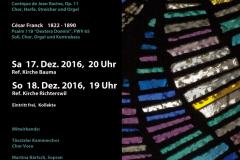 2016 Adventskonzert